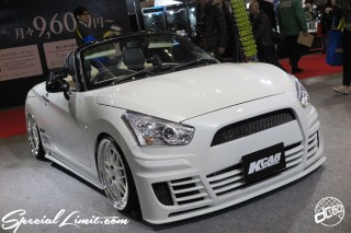TOKYO Auto Salon 2015 Custom Car Demo JDM USDM Body Kit Coilover Suspension Wheels Campaign Girl Image New Parts Chiba Makuhari Messe Motor Show DAIHATSU COPEN KCAR SPECIAL
