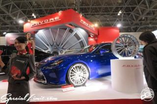 TOKYO Auto Salon 2015 Custom Car Demo JDM USDM Body Kit Coilover Suspension Wheels Campaign Girl Image New Parts Chiba Makuhari Messe Motor Show FAVORE LEXUS RC-F