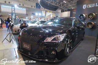 TOKYO Auto Salon 2015 Custom Car Demo JDM USDM Body Kit Coilover Suspension Wheels Campaign Girl Image New Parts Chiba Makuhari Messe Motor Show BOLD WORLD TOYOTA CROWN