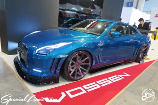 TOKYO Auto Salon 2015 Custom Car Demo JDM USDM Body Kit Coilover Suspension Wheels Campaign Girl Image New Parts Chiba Makuhari Messe Motor Show VOSSEN NISSAN R35 GT-R