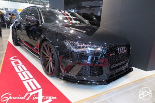 TOKYO Auto Salon 2015 Custom Car Demo JDM USDM Body Kit Coilover Suspension Wheels Campaign Girl Image New Parts Chiba Makuhari Messe Motor Show Audi RS6 VOSSEN