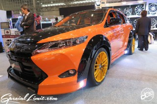 TOKYO Auto Salon 2015 Custom Car Demo JDM USDM Body Kit Coilover Suspension Wheels Campaign Girl Image New Parts Chiba Makuhari Messe Motor Show AWESOME TOYOTA HARRIER