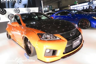 TOKYO Auto Salon 2015 Custom Car Demo JDM USDM Body Kit Coilover Suspension Wheels Campaign Girl Image New Parts Chiba Makuhari Messe Motor Show LEXUS IS-F AIMGAIN
