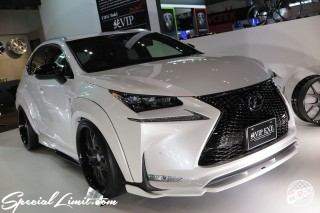 TOKYO Auto Salon 2015 Custom Car Demo JDM USDM Body Kit Coilover Suspension Wheels Campaign Girl Image New Parts Chiba Makuhari Messe Motor Show LEXUS NX AIM GAIN