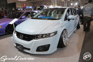 TOKYO Auto Salon 2015 Custom Car Demo JDM USDM Body Kit Coilover Suspension Wheels Campaign Girl Image New Parts Chiba Makuhari Messe Motor Show HONDA ODYSSEY RB