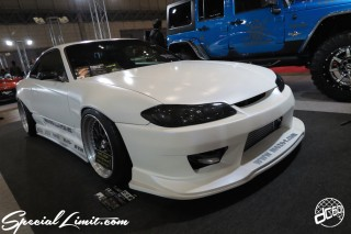 TOKYO Auto Salon 2015 Custom Car Demo JDM USDM Body Kit Coilover Suspension Wheels Campaign Girl Image New Parts Chiba Makuhari Messe Motor Show NISSAN SILVIA S15