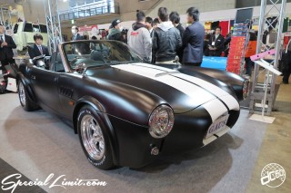 TOKYO Auto Salon 2015 Custom Car Demo JDM USDM Body Kit Coilover Suspension Wheels Campaign Girl Image New Parts Chiba Makuhari Messe Motor Show Chevy COBRA Type