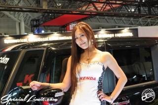 TOKYO Auto Salon 2015 Custom Car Demo JDM USDM Body Kit Coilover Suspension Wheels Campaign Girl Image New Parts Chiba Makuhari Messe KENDA
