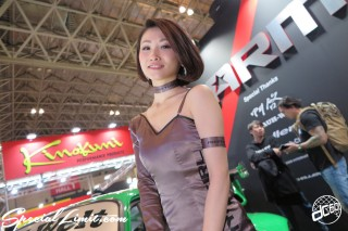 TOKYO Auto Salon 2015 Custom Car Demo JDM USDM Body Kit Coilover Suspension Wheels Campaign Girl Image New Parts Chiba Makuhari Messe RAUH-Welt