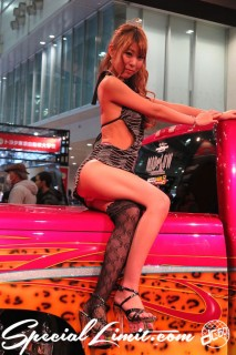 TOKYO Auto Salon 2015 Custom Car Demo JDM USDM Body Kit Coilover Suspension Wheels Campaign Girl Image New Parts Chiba Makuhari Messe AIWA TM Auto Service HOUSE of KOLOR A-Hand