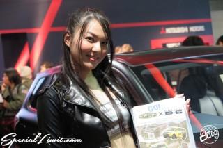 TOKYO Auto Salon 2015 Custom Car Demo JDM USDM Body Kit Coilover Suspension Wheels Campaign Girl Image New Parts Chiba Makuhari Messe MITSUBISHI