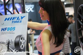 TOKYO Auto Salon 2015 Custom Car Demo JDM USDM Body Kit Coilover Suspension Wheels Campaign Girl Image New Parts Chiba Makuhari Messe HIFLY TIRES