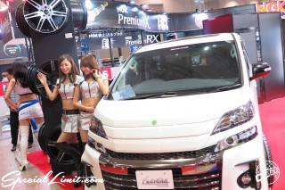 TOKYO Auto Salon 2015 Custom Car Demo JDM USDM Body Kit Coilover Suspension Wheels Campaign Girl Image New Parts Chiba Makuhari Messe Advanti