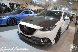 TOKYO Auto Salon 2015 Custom Car Demo JDM USDM Body Kit Coilover Suspension Wheels Campaign Girl Image New Parts Chiba Makuhari Messe Motor Show MAZDA ACCERA