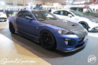 TOKYO Auto Salon 2015 Custom Car Demo JDM USDM Body Kit Coilover Suspension Wheels Campaign Girl Image New Parts Chiba Makuhari Messe Motor Show MAZDA RX-8