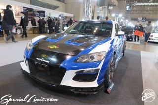TOKYO Auto Salon 2015 Custom Car Demo JDM USDM Body Kit Coilover Suspension Wheels Campaign Girl Image New Parts Chiba Makuhari Messe Motor Show RE-Amemiya MAZDA RX8