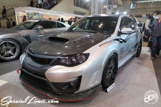 TOKYO Auto Salon 2015 Custom Car Demo JDM USDM Body Kit Coilover Suspension Wheels Campaign Girl Image New Parts Chiba Makuhari Messe Motor Show SUBARU IMPREZA