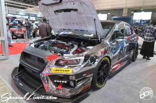 TOKYO Auto Salon 2015 Custom Car Demo JDM USDM Body Kit Coilover Suspension Wheels Campaign Girl Image New Parts Chiba Makuhari Messe Motor Show BLITZ SUBARU LEVORG Chrome Wrapping