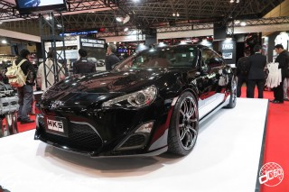 TOKYO Auto Salon 2015 Custom Car Demo JDM USDM Body Kit Coilover Suspension Wheels Campaign Girl Image New Parts Chiba Makuhari Messe Motor Show HKS TOYOTA 86
