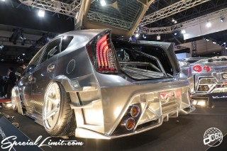 TOKYO Auto Salon 2015 Custom Car Demo JDM USDM Body Kit Coilover Suspension Wheels Campaign Girl Image New Parts Chiba Makuhari Messe Motor Show KUHI Racing TOYOTA PRIUS Hybrid Wide Body