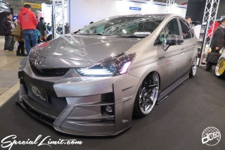 TOKYO Auto Salon 2015 Custom Car Demo JDM USDM Body Kit Coilover Suspension Wheels Campaign Girl Image New Parts Chiba Makuhari Messe Motor Show Kuhi Racing TOYOTA Prius Hybrid