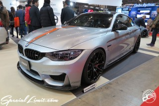 TOKYO Auto Salon 2015 Custom Car Demo JDM USDM Body Kit Coilover Suspension Wheels Campaign Girl Image New Parts Chiba Makuhari Messe Motor Show BMW M4 RAYS