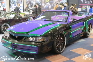 TOKYO Auto Salon 2015 Custom Car Demo JDM USDM Body Kit Coilover Suspension Wheels Campaign Girl Image New Parts Chiba Makuhari Messe Motor Show FORD MUSTANG