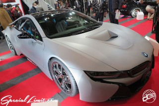 TOKYO Auto Salon 2015 Custom Car Demo JDM USDM Body Kit Coilover Suspension Wheels Campaign Girl Image New Parts Chiba Makuhari Messe Motor Show BMW i8 Studie AG