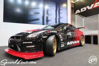 TOKYO Auto Salon 2015 Custom Car Demo JDM USDM Body Kit Coilover Suspension Wheels Campaign Girl Image New Parts Chiba Makuhari Messe Motor Show ADVAN NISSAN R35 GT-R