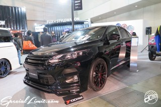 TOKYO Auto Salon 2015 Custom Car Demo JDM USDM Body Kit Coilover Suspension Wheels Campaign Girl Image New Parts Chiba Makuhari Messe Motor Show TOYOTA HARRIER PREMIX STYLEWAGON