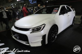 TOKYO Auto Salon 2015 Custom Car Demo JDM USDM Body Kit Coilover Suspension Wheels Campaign Girl Image New Parts Chiba Makuhari Messe Motor Show TOYOTA GAZOO Racing MarkX G'z