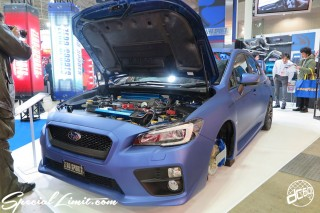 TOKYO Auto Salon 2015 Custom Car Demo JDM USDM Body Kit Coilover Suspension Wheels Campaign Girl Image New Parts Chiba Makuhari Messe Motor Show SUBARU IMPREZA ZERO Sports