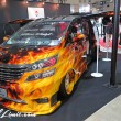 TOKYO Auto Salon 2015 Custom Car Demo JDM USDM Body Kit Coilover Suspension Wheels Campaign Girl Image New Parts Chiba Makuhari Messe Motor Show TOYOTA VELLFIRE GROUND ZERO Audio OFC Customs Gull Wing