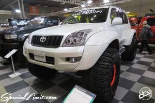 TOKYO Auto Salon 2015 Custom Car Demo JDM USDM Body Kit Coilover Suspension Wheels Campaign Girl Image New Parts Chiba Makuhari Messe Motor Show TOYOTA Land Cruiser PRADO