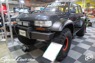 TOKYO Auto Salon 2015 Custom Car Demo JDM USDM Body Kit Coilover Suspension Wheels Campaign Girl Image New Parts Chiba Makuhari Messe Motor Show TOYOTA Land Cruiser 80