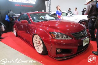 TOKYO Auto Salon 2015 Custom Car Demo JDM USDM Body Kit Coilover Suspension Wheels Campaign Girl Image New Parts Chiba Makuhari Messe Motor Show LEXON LEXUS IS-F