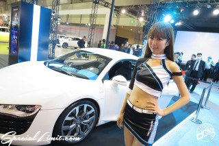 TOKYO Auto Salon 2015 Custom Car Demo JDM USDM Body Kit Coilover Suspension Wheels Campaign Girl Image New Parts Chiba Makuhari Messe Motor Show carrozzeria Audi R8
