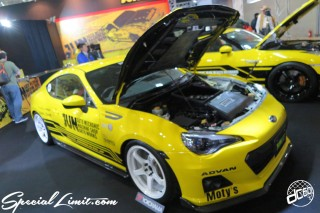 TOKYO Auto Salon 2015 Custom Car Demo JDM USDM Body Kit Coilover Suspension Wheels Campaign Girl Image New Parts Chiba Makuhari Messe Motor Show JUN Auto SUBARU BR-Z