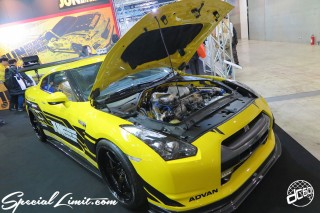 TOKYO Auto Salon 2015 Custom Car Demo JDM USDM Body Kit Coilover Suspension Wheels Campaign Girl Image New Parts Chiba Makuhari Messe Motor Show JUN Auto NISSAN R35 GTR