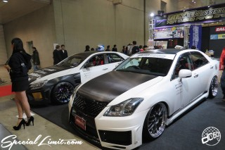 TOKYO Auto Salon 2015 Custom Car Demo JDM USDM Body Kit Coilover Suspension Wheels Campaign Girl Image New Parts Chiba Makuhari Messe Motor Show TOYOTA CROWN FINAL KONNEXTION