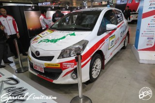 TOKYO Auto Salon 2015 Custom Car Demo JDM USDM Body Kit Coilover Suspension Wheels Campaign Girl Image New Parts Chiba Makuhari Messe Motor Show TOYOTA VITZ Rally Challenge