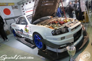 TOKYO Auto Salon 2015 Custom Car Demo JDM USDM Body Kit Coilover Suspension Wheels Campaign Girl Image New Parts Chiba Makuhari Messe Motor Show NISSAN Skyline GTR R34