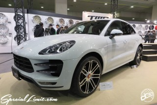 TOKYO Auto Salon 2015 Custom Car Demo JDM USDM Body Kit Coilover Suspension Wheels Campaign Girl Image New Parts Chiba Makuhari Messe Motor Show PORSCHE Cayenne TWS