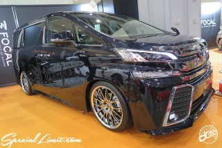 TOKYO Auto Salon 2015 Custom Car Demo JDM USDM Body Kit Coilover Suspension Wheels Campaign Girl Image New Parts Chiba Makuhari Messe Motor Show TOYOTA Vellfire
