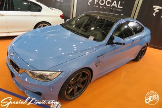 TOKYO Auto Salon 2015 Custom Car Demo JDM USDM Body Kit Coilover Suspension Wheels Campaign Girl Image New Parts Chiba Makuhari Messe Motor Show BMW M4