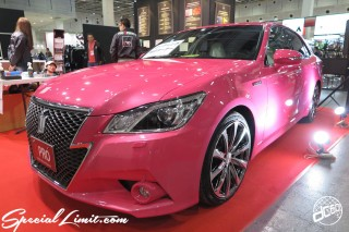 TOKYO Auto Salon 2015 Custom Car Demo JDM USDM Body Kit Coilover Suspension Wheels Campaign Girl Image New Parts Chiba Makuhari Messe Motor Show TOYOTA CROWN Hybrid DPRO