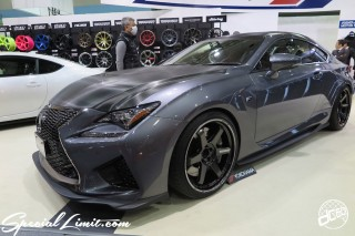 TOKYO Auto Salon 2015 Custom Car Demo JDM USDM Body Kit Coilover Suspension Wheels Campaign Girl Image New Parts Chiba Makuhari Messe Motor Show LEXUS RC-F Ray's