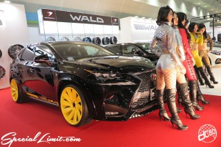 TOKYO Auto Salon 2015 Custom Car Demo JDM USDM Body Kit Coilover Suspension Wheels Campaign Girl Image New Parts Chiba Makuhari Messe Motor Show LEXUS NX WALD