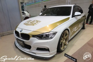 TOKYO Auto Salon 2015 Custom Car Demo JDM USDM Body Kit Coilover Suspension Wheels Campaign Girl Image New Parts Chiba Makuhari Messe Motor Show BMW F30 PLACE