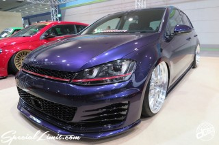 TOKYO Auto Salon 2015 Custom Car Demo JDM USDM Body Kit Coilover Suspension Wheels Campaign Girl Image New Parts Chiba Makuhari Messe Motor Show VOOMERAN Euro Magic Volkswagen Golf